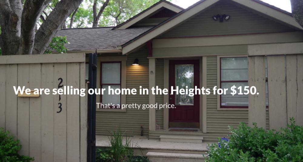 Haus für $150 zu Verkaufen