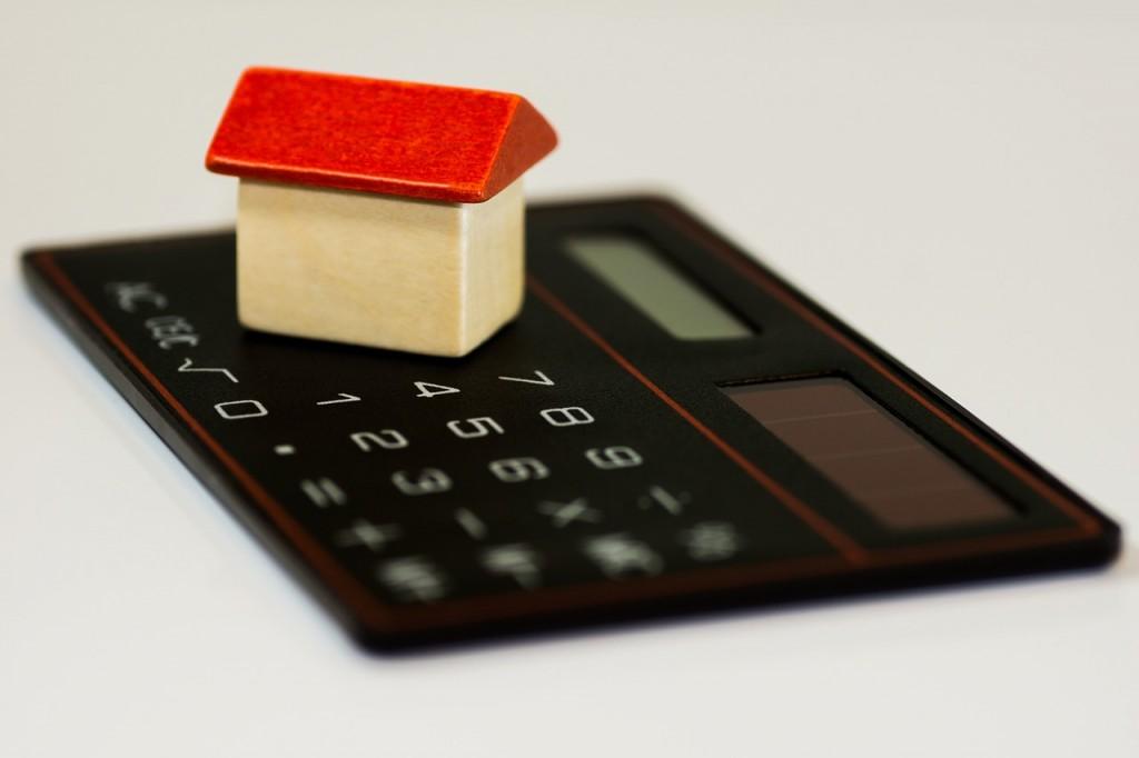 Haus, Hypothek, Rechner